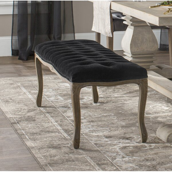 Ellianna Upholstered Bench by Ophelia & Co.