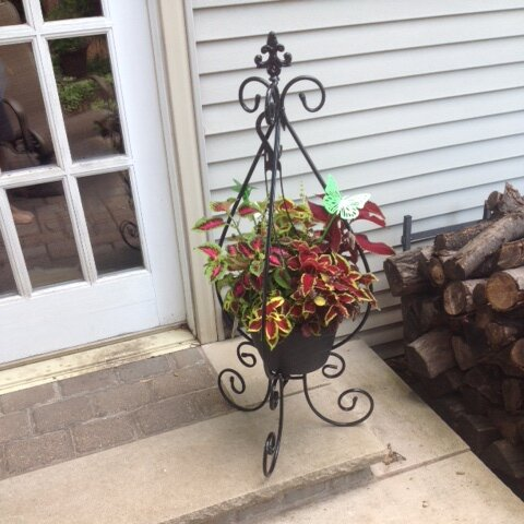 Rain Drop Plant Stand by Artscapes