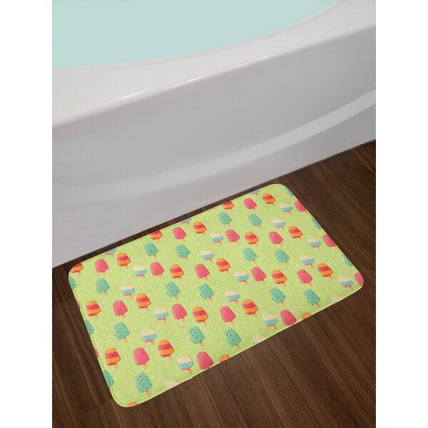 Delicious Ice Cream Bath Rug by East Urban Home