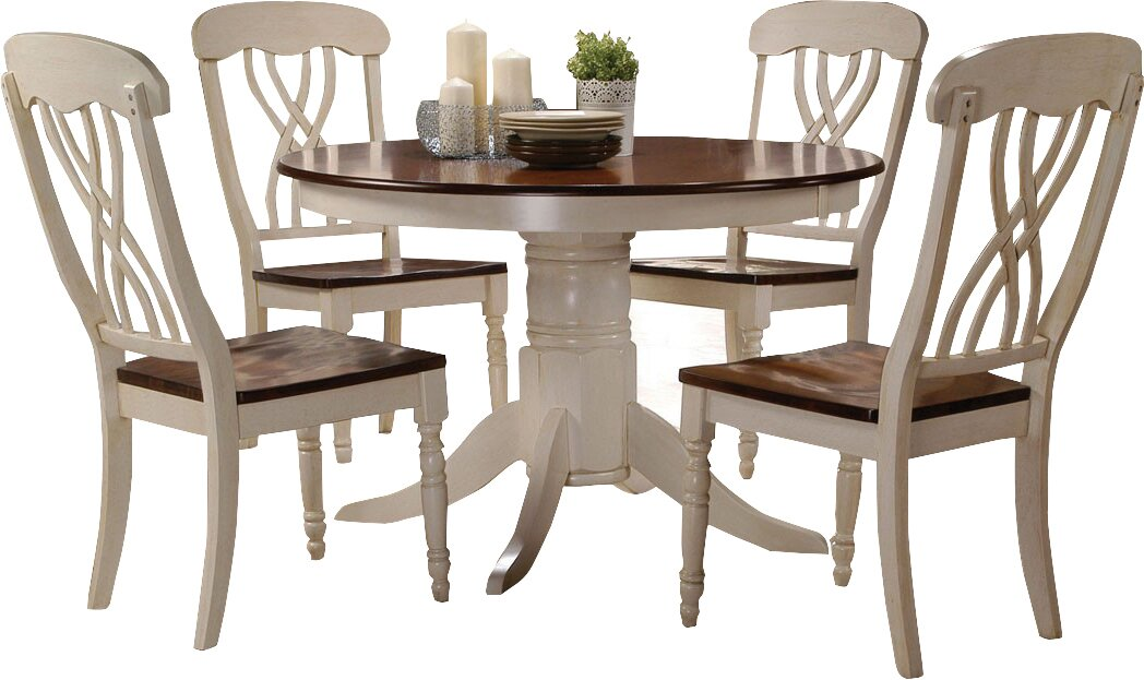 e Allium Way Donnelly 5 Piece Dining Set & Reviews