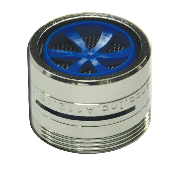15/16-27M X 55/64-27F Slotted 1.5 GPM Faucet Aerator by Danco