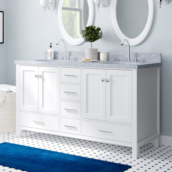 Utley 61 Double Bathroom Vanity Set by Andover Mills