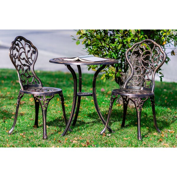 Riemer 3 Piece Bistro Set By Astoria Grand by Astoria Grand Best Choices