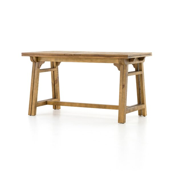 Maissane Counter Height Solid Wood Dining Table by Laurel Foundry Modern Farmhouse