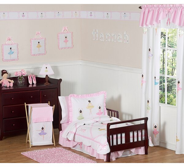 Ballerina 5 Piece Toddler Bedding Set by Sweet Jojo Designs