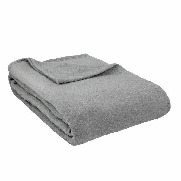 Barrett Fleece Blanket by Beachcrest Home