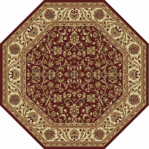 Clarence Burgundy Area Rug by Astoria Grand