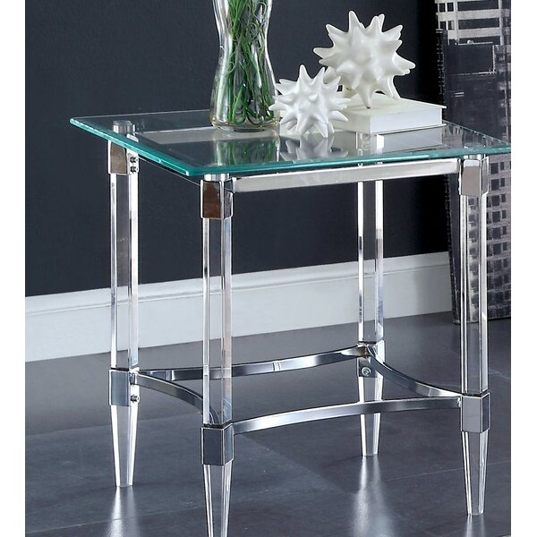 Baur End Table by Orren Ellis