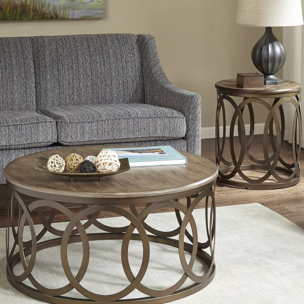 & Ivy Bronx Bleich 2 Piece Coffee Table Set u0026 Reviews | Wayfair