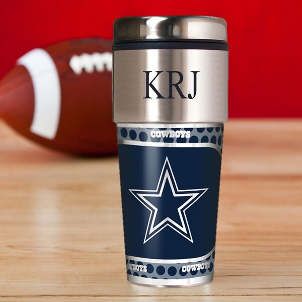 Personalized Cowboys Travel Mug by JDS Personalized Gifts