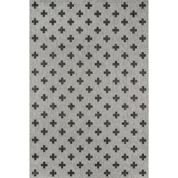 Umbria Gray Indoor/Outdoor Area Rug by Novogratz