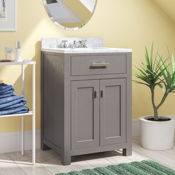 Raven 24 Single Bathroom Vanity Set by Andover Mills