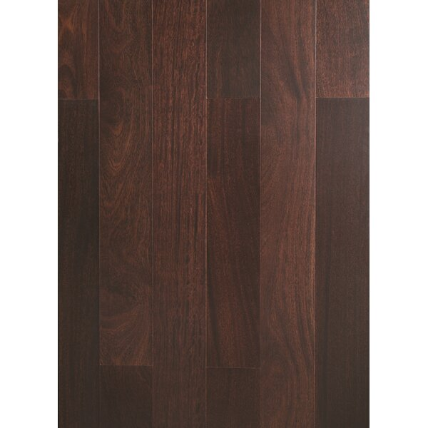 5 Myra Engineered Teak Hardwood Flooring in Espresso by Welles Hardwood