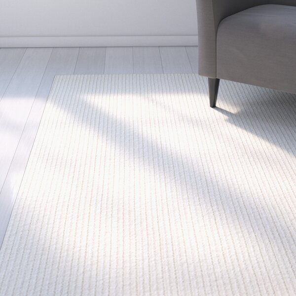 Bettie Hand-Tufted Ivory Area Rug by Latitude Run