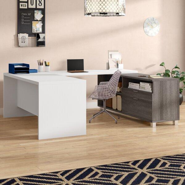Romeo U-Shape Desk Office Suite by Mercury Row