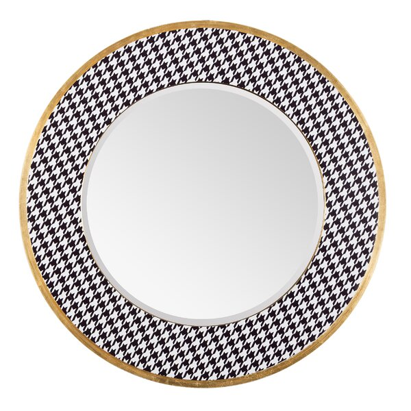 Azzezzi Round Accent Mirror by Varaluz