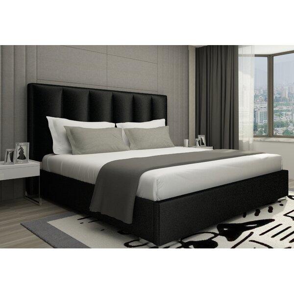 Kugler Velvet King Upholstered Platform Bed by Orren Ellis