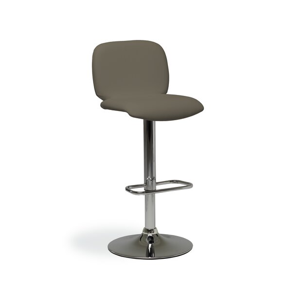 Verdell Adjustable Height Swivel Bar Stool by Orren Ellis Orren Ellis