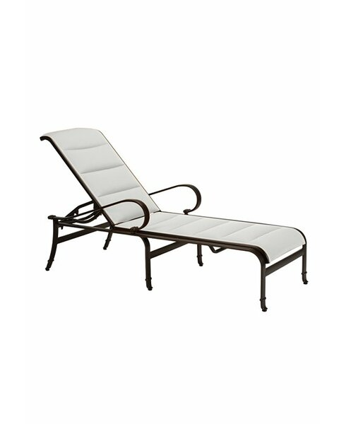 Torino Chaise Lounge with Cushion by Tropitone