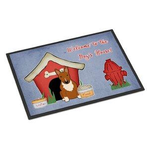 Dog House Bull Terrier Doormat