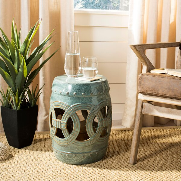Holbrook Ceramic Garden Stool by World Menagerie