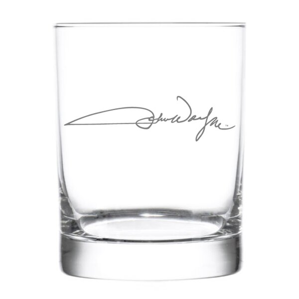 John Wayne Signature 15 oz. Glass (Set of 4) by Rolf Glass