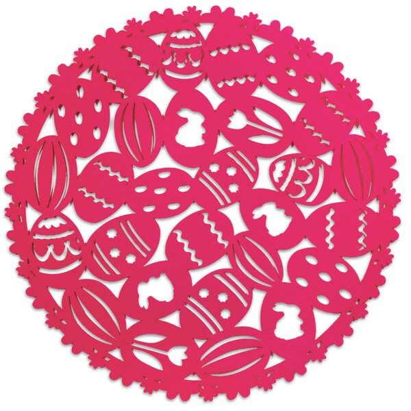 Eggs Round Placemat (Set of 4) by The Holiday Aisle