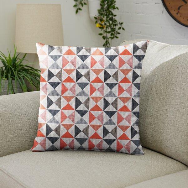Lavonia Sunbrella Indoor / Outdoor Geometric Throw Pillow