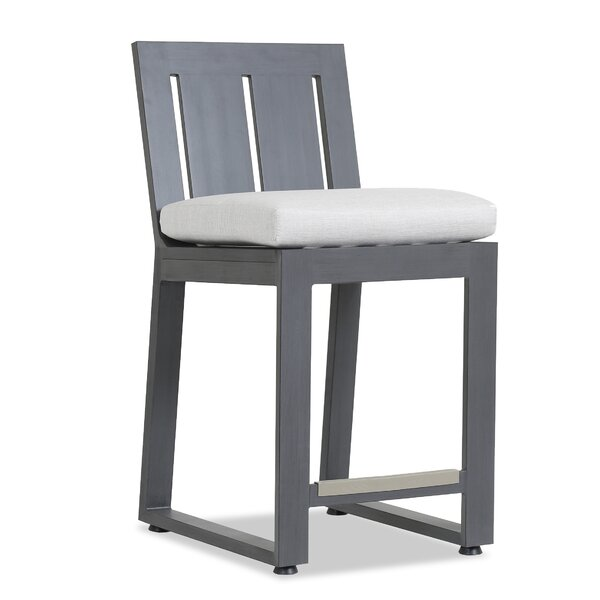 Redondo 30 Patio Bar Stool with Cushion by Sunset West