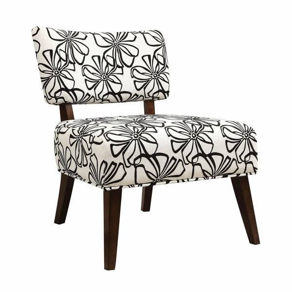Montevideo Slipper Chair by Latitude Run