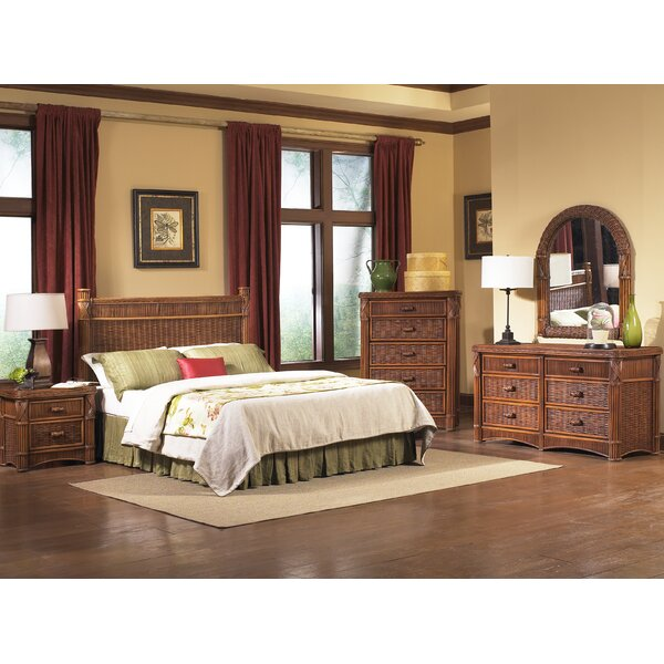 Woodlake Standard 5 Piece Bedroom Set by Bay Isle Home