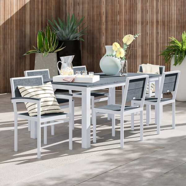 Gavin Outdoor 7 Piece Dining Set by Foundstone