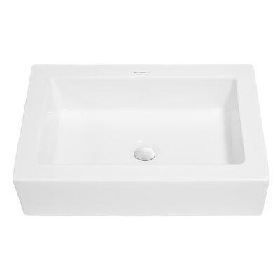 Voltaire Ceramic Rectangular Bathroom Sink