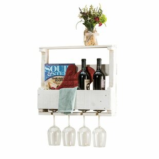 Best 4 Bottle Wall Mounted Wine Rack By Del Hutson Designs Kitchen U0026 Dining  Furniture