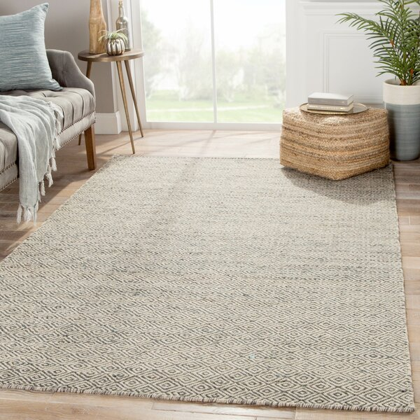 Gideon Hand-Woven Wool Taupe/Gray Area Rug by Union Rustic