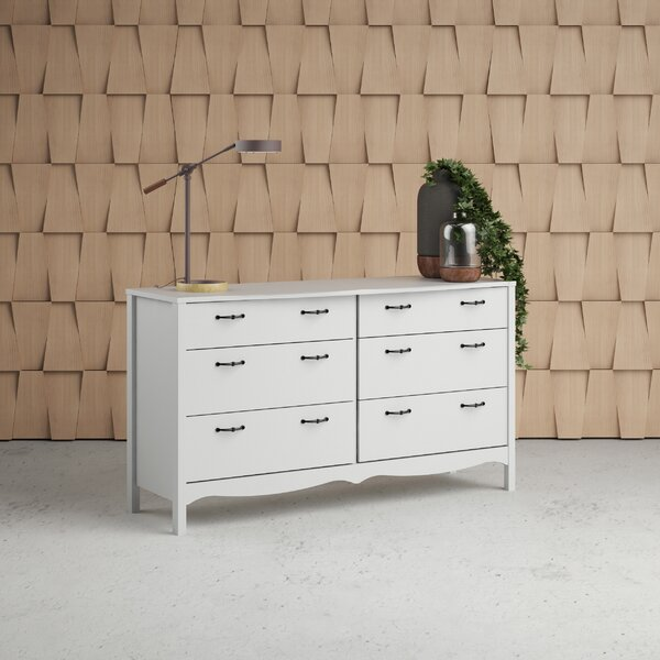 Xochitl 6 Drawer Double Dresser by Beachcrest Home