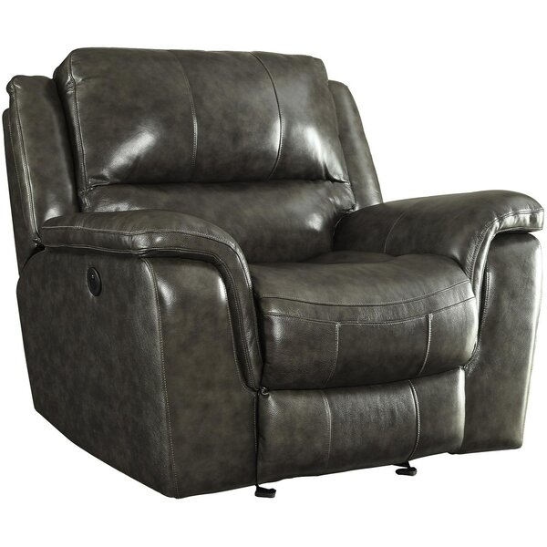 Kittleson Power Wall Hugger Recliner by Alcott Hill