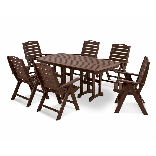 Nautical 7-Piece Dining Set by POLYWOOD®