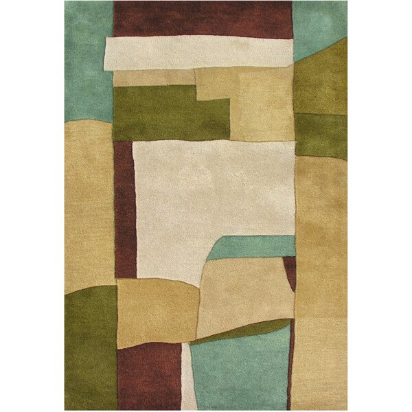 Perez Hand-Tufted Sand Area Rug by The Conestoga Trading Co.