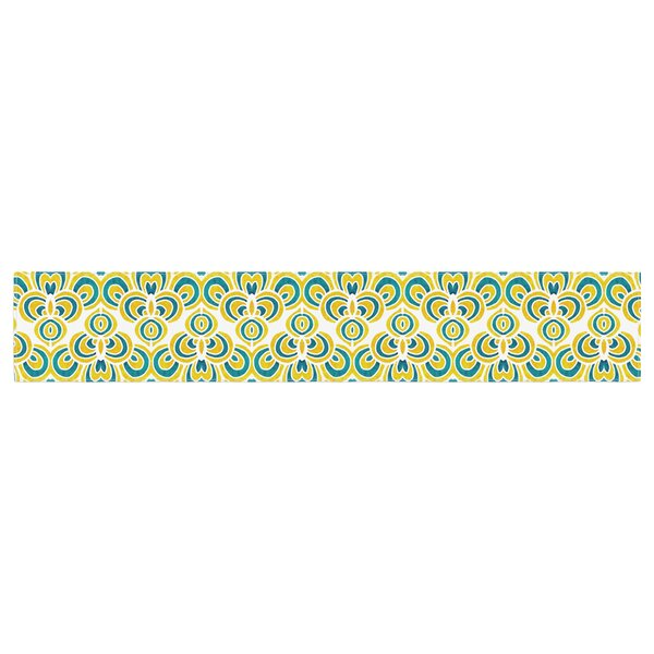 Pom Graphic Design Animal Temple Table Runner by East Urban Home
