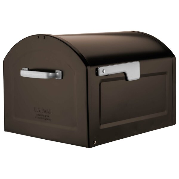 Centennial Large Capacity Parcel Post Mounted Mailbox by Architectural Mailboxes