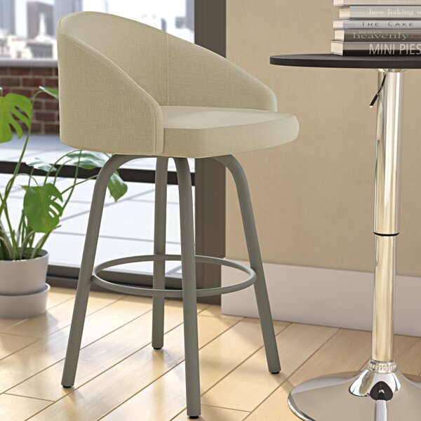 Hawkesbury Swivel Bar Stool by Brayden Studio