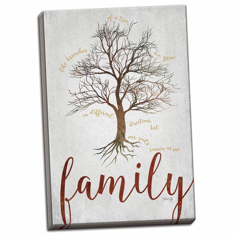 winston porter contemporary family tree graphic art print wayfair