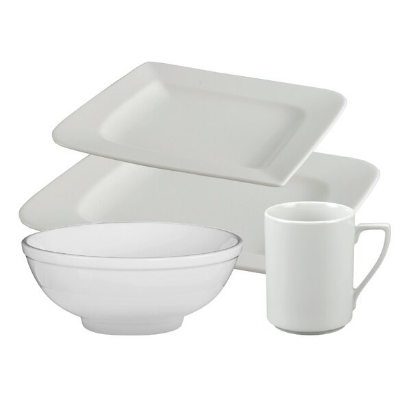 Lynx 16 Piece Dinnerware Set, Service for 4 by Alcott Hill