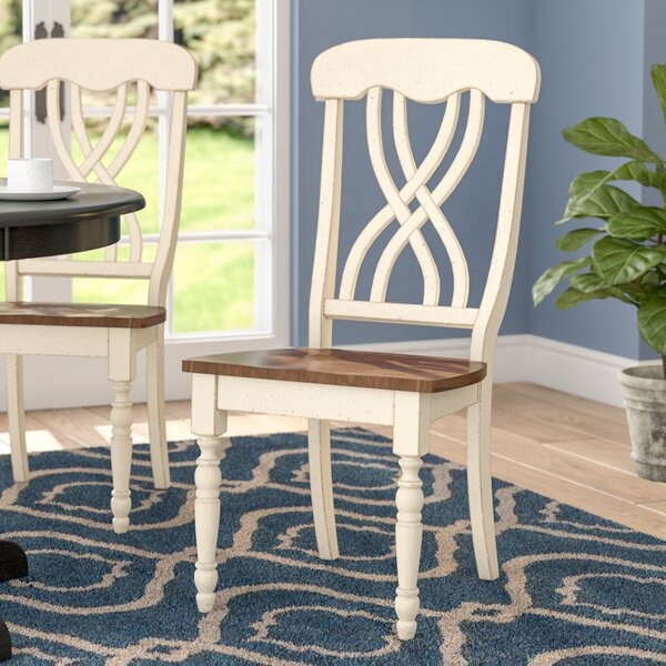Sisson Solid Wood Dining Chair (Set of 2) by Andover Mills