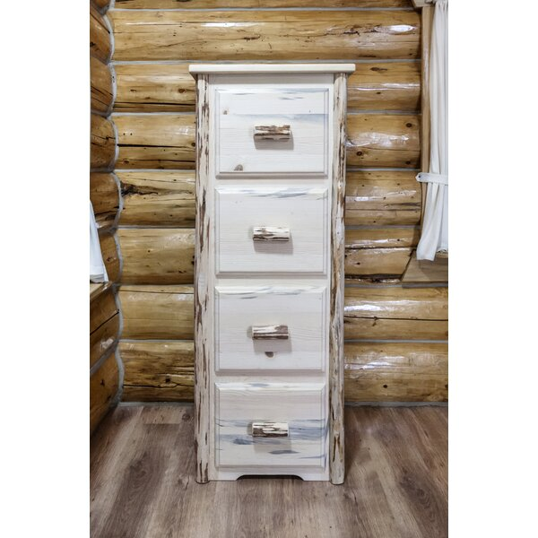 Tustin 4 Drawers Vertical File Cabinet