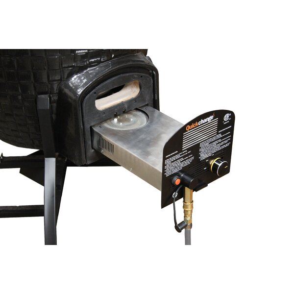 Natural Gas Insert for C Series Kamado Grill by Vision Grills