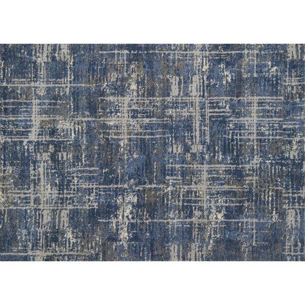 Aparicio Blue/Gray Area Rug by Latitude Run