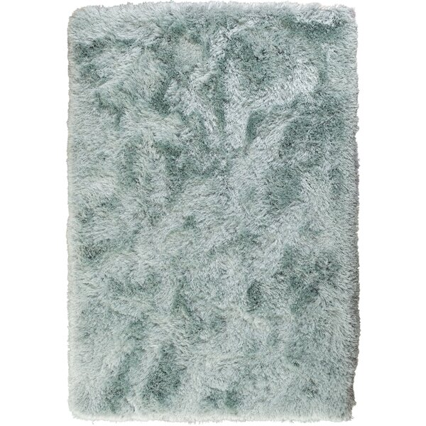 Somerville Hand-Tufted Aqua Area Rug by House of Hampton
