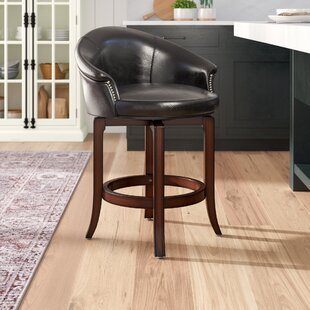 Dewall 25 Swivel Bar Stool by DarHome Co